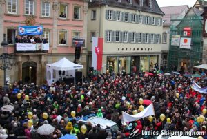 Olympic Games in Sochi - Welcome home party for Carina Vogt