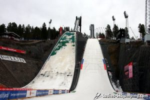 World Cup in Falun 2014 - Official Training