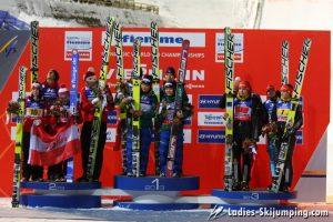 World Championships in Predazzo - Mixed Competition