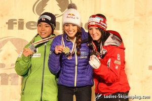 World Championships in Predazzo - Prize giving - individual