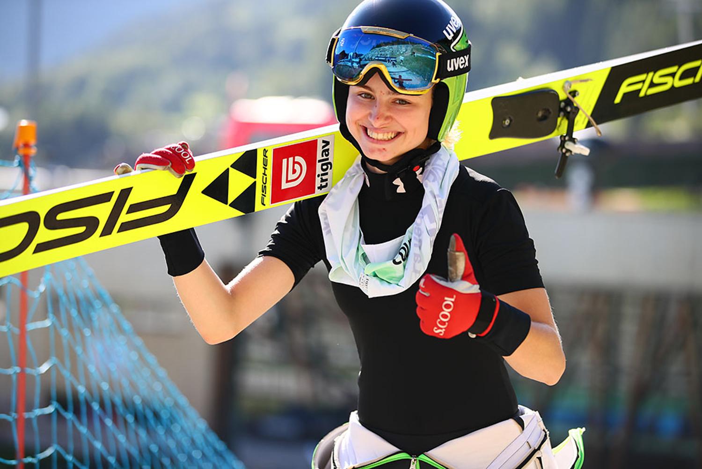 virtual Descendencia Fanático  SGP in Frenstat: Nika Kriznar unbeatable in Friday's training –  Ladies-Skijumping.com
